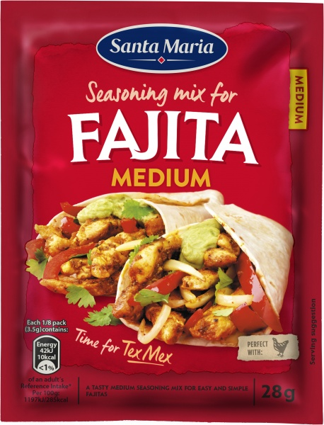 Fajita Seasoning Mix Medium