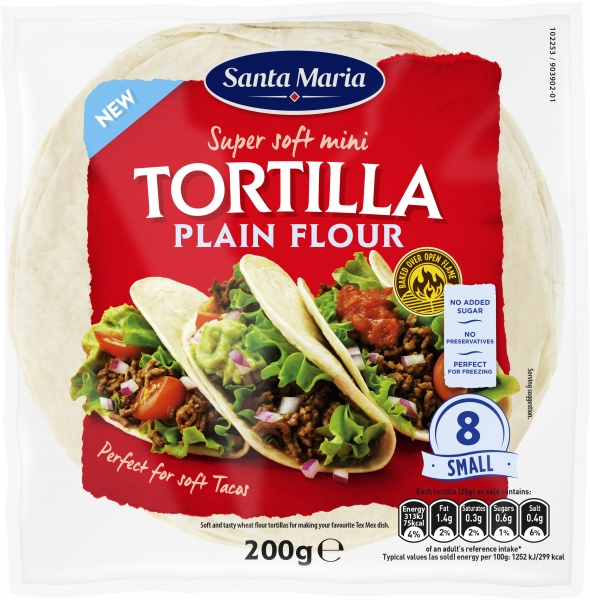 Tortillas Original Small